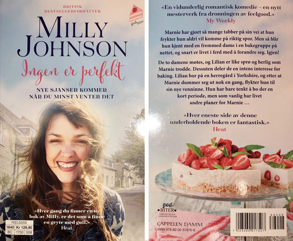 Norwegian cover of The Perfectly Imperfect Woman