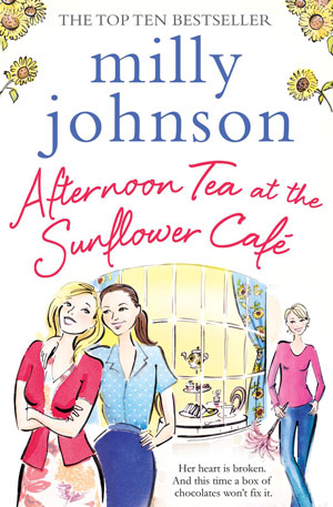 Afternoon Tea at the Sunflower Café cover