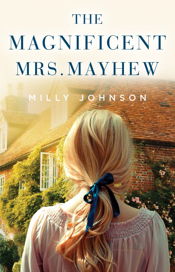 Cover of the US edition of The Magnificent Mrs Mayhew