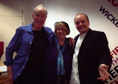Mad Uncle Bernie Clifton, Mad Jack Land-Noble and Mad Milly Johnson on BBC Radio Sheffield.