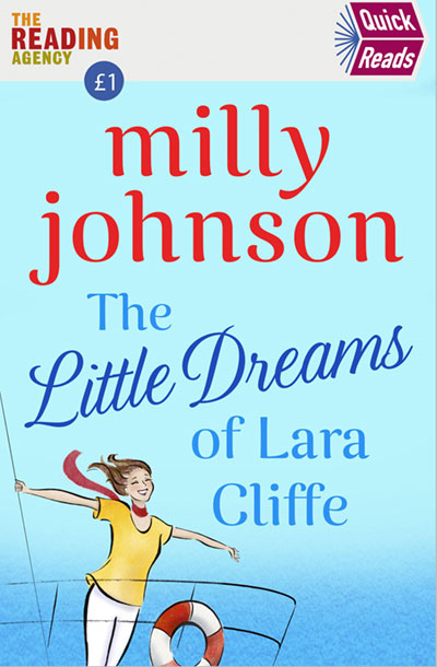 The Little Dreams of Lara Cliffe by Milly Johnson - cover