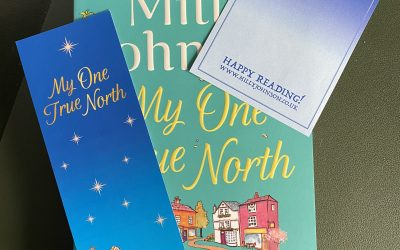 Free Bookmark & Signed Book Plate for My One True North