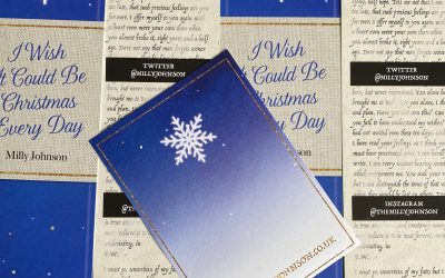 #ChristmasEveryDay Bookmarks & Bookplates (and ribbon) by post!