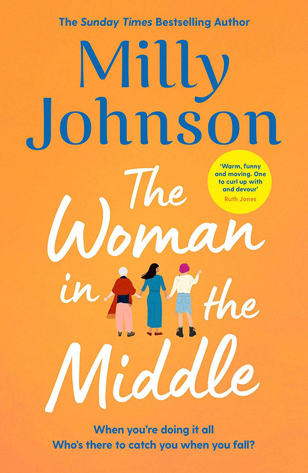 The Woman in the Middle by Milly Johnson book cover